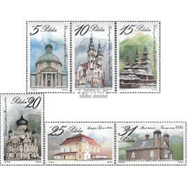 Pologne 2954-2959 (complète.Edition.) neuf avec gomme originale 1984 de culte Christianisme
