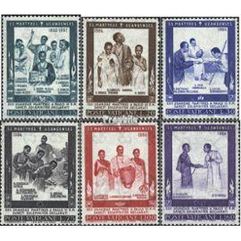 Vatican 471-476 (complète.Edition.) neuf avec gomme originale 1965 canonisation Christianisme