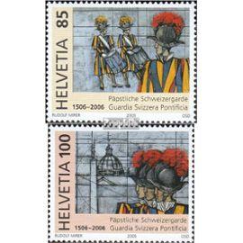Suisse 1945-1946 (complète.Edition.) oblitéré 2005 papale garde suisse Christianisme