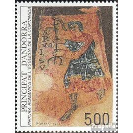 andorre - français Post 384 (complète.Edition.) neuf avec gomme originale 1987 religieuses Art Christianisme
