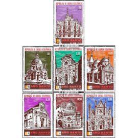 Äquatorialguinea 363-369 (complète.Edition.) oblitéré 1974 italien de culte Christianisme