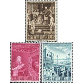 Vatican 344-346 (complète.Edition.) neuf avec gomme originale 1960 pape pius . Christianisme