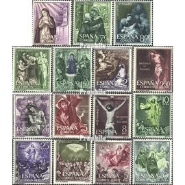 Espagne 1355-1369 (complète.Edition.) neuf avec gomme originale 1962 rosaire Christianisme