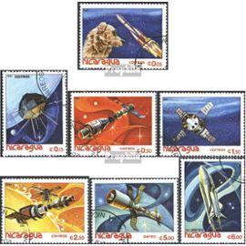Nicaragua 2261-2267 (complète.Edition.) oblitéré 1982 mondiale de l