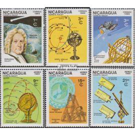 Nicaragua 2621-2626 (complète.Edition.) oblitéré 1985 halleyscher komet L¿espace