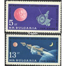 Bulgarie 1366-1367 (complète.Edition.) neuf avec gomme originale 1963 sonde mars mars 1 L¿espace