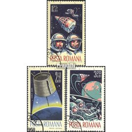 Roumanie 2427-2429 (complète.Edition.) oblitéré 1965 mondiale de l