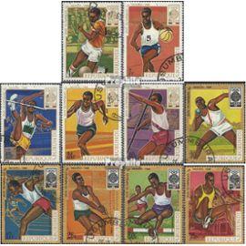 Burundi 446A-455A (complète.Edition.) oblitéré 1968 olympe. Jeux ¿68, Mexique jeux olympiques