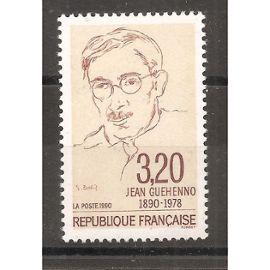 2641 (1990) Jean Ghéhenno N** (cote 1,5e) (0925)