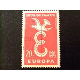 FRANCIA 1958 Europa CEPT Yvert 1173 FU