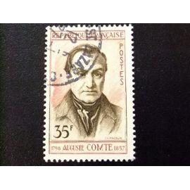 FRANCIA 1957 Auguste Comte Yvert 1121 FU