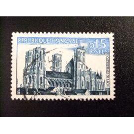 FRANCIA 1960 Série Touristique Cathédrale de Laon Yvert 1235 FU