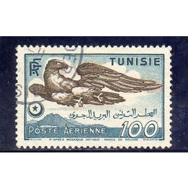 Timbre de poste aérienne de Tunisie (Aigle)
