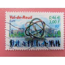 "Timbre France YT 3427 - Val-de-Reuil (Eure) - ""L"