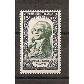 871 (1950) Célébrités Révolution de 1789 Maximilien de Robespierre N* (cote 10e) (5784)