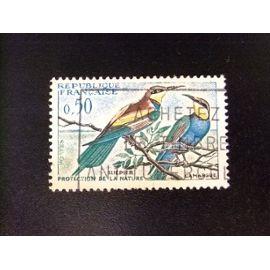 Francia 1960 Oiseaux Guêpiers Yvert 1276 FU