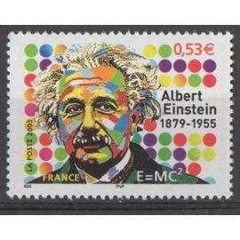 Timbre France 2005 Yvert et Tellier n°3779 Albert Einstein 1879-1955 Neuf** Gomme intacte