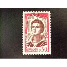 Francia 1961 Comédiens Français Gérard Philipe Yvert 1305 FU