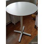 Table Ronde Ikea Extensible.Table De Bar Ronde Haute Ikea Billsta Etat Neuf