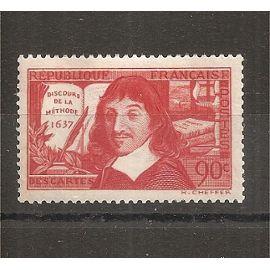 342 (1937) René Descartes - Discours de la Méthode N* (cote 7e) (6226)