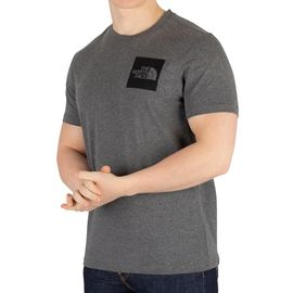 81893011d The North Face Homme T-shirt fin, Gris