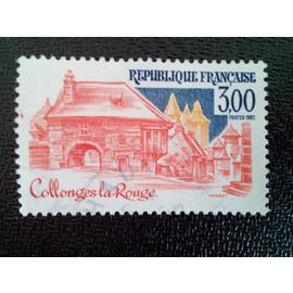 timbre FRANCE YT 2196 Collonges-la-Rouge 1982