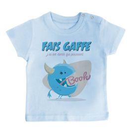 "Batman /""FAIS GAFFE/"" T-shirt à manches longues"