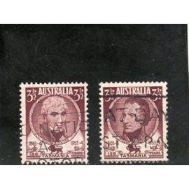 Timbres-poste d'Australie (Sesquicentenaire de la colonisation de la Tasmanie)