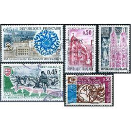 France, joli lot 1974, ivert 1783 arphila 75, 1792 conseil de l