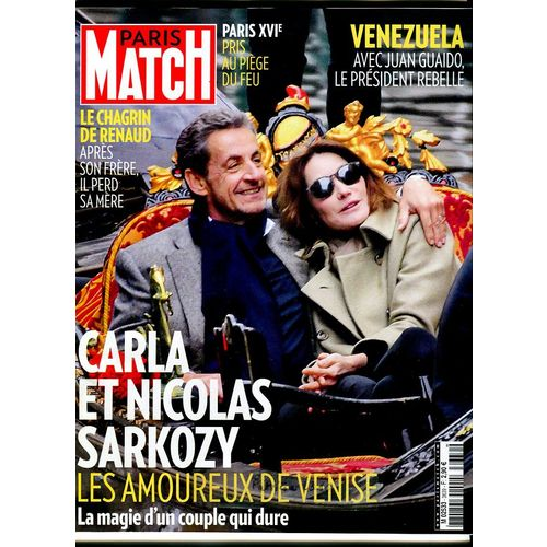 Paris Match N 3639 Carla Et Nicolas Sarkozy Rakuten