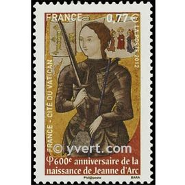 600ème anniversaire de la naissance de jeanne d