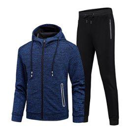 économiser 9588c 3b88d Ensemble de Jogging Sports Homme Vêtements Veste+Pantalon Homme de Sport  Fashion