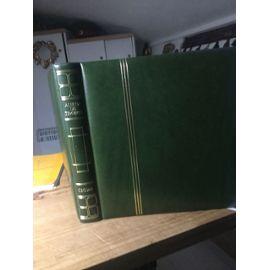 Timbres 1 er jour avec serigraphie .Album de 114 pages de la maison Henry Thiaude 22/04/74 au 23/04/83