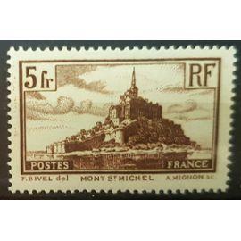 Timbre neuf * du Mont St Michel avec trace de charnière : n°260.