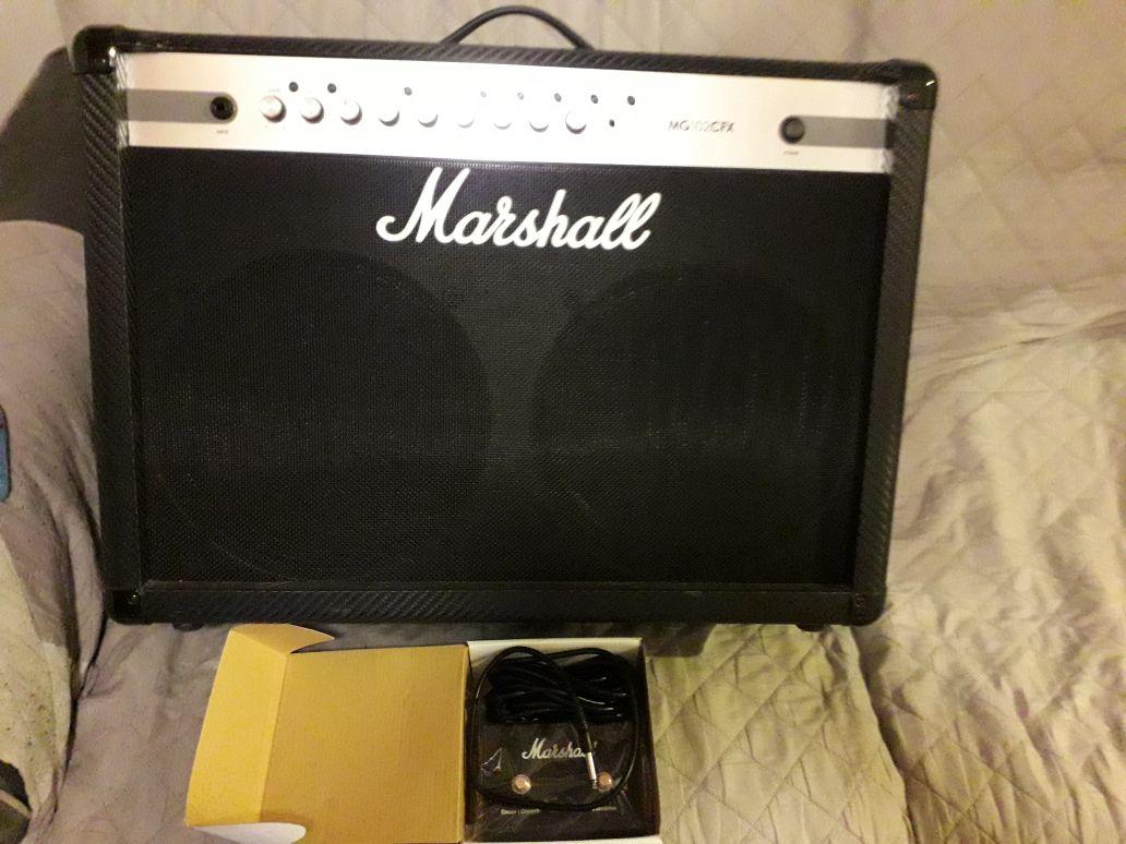 Vente Marshall Amplis Marshall Mg 102cfx