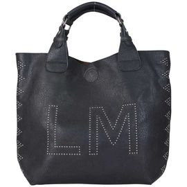 Lm Souple Sac Rivet Noir Décor Divine Marcel À Main Little yNOvn0m8w