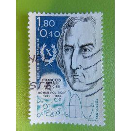 Timbre France YT 2396 - Personnages célèbres - François Arago - Physicien - 1986