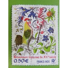 Timbre France YT 3629 - Enluminure Française - Emission commune avec l