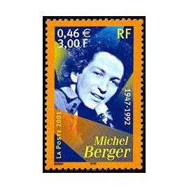 timbre Artistes de la chanson Michel Berger 1947-1992 (emission de 2001)
