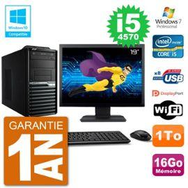 PC Acer Veriton M4630G MT Ecran 19 quot; i5-4570 RAM 16Go Disque 1To DVD Wifi W7