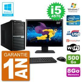 PC Acer Veriton M4630G MT Ecran 22 quot; i5-4570 RAM 8Go Disque 500Go DVD Wifi W7