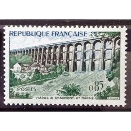 Viaduc de Chaumont 0,85 (Impeccable n° 1240) Neuf** Luxe (= Sans Trace de Charnière) - Cote 3,60€ - France Année 1960 - N10212