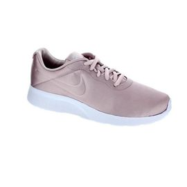 Nike baskets tanjun premium - femme - satin rose poudre 39 ...