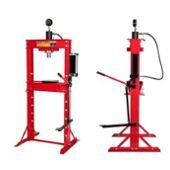 Presse hydraulique d /'atelier 20 Tonnes avec manométre T4