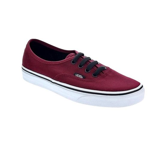 vans authentic femme rouge