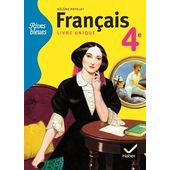 Francais 4e Livre Unique Format Compact