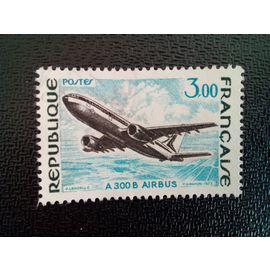 timbre FRANCE YT 1751 Airbus A 300 B 1973
