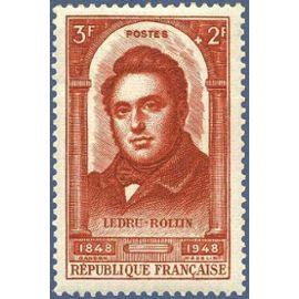 france 1948, bel exemplaire yv. 796, ledru rollin, avocat et homme politique français, neuf*