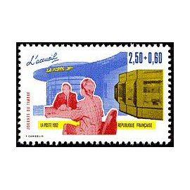timbre Journée du timbre 1992 Les métiers de la Poste - L
