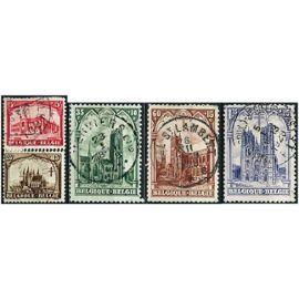 belgique 1928, belle série au profit d